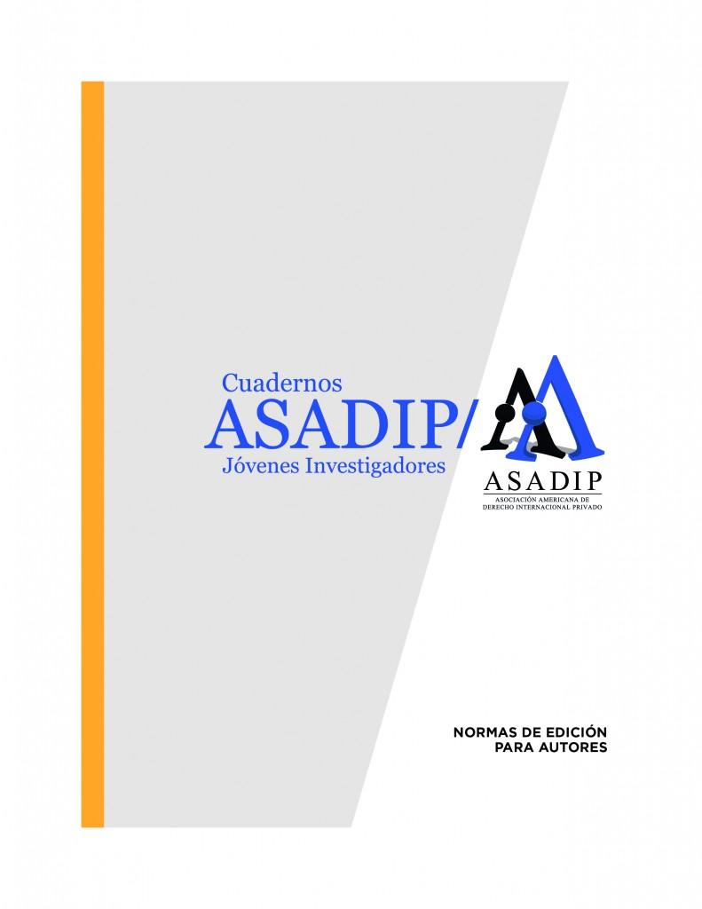 normas de edicion ASADIP tapa