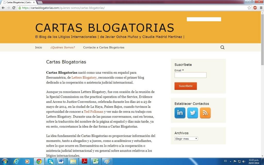 cartasblogatorias.com