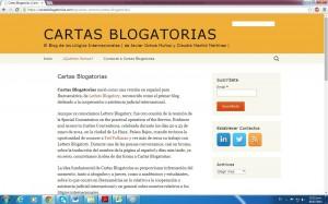"""Reciente lanzamiento de """"Cartas Blogatorias"""" (cartasblogatorias.com). Un nuevo espacio de difusión de los litigios internacionales en el ámbito iberoamericano."""