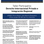 El Derecho Internacional Privado y el desarrollo de los mercados integrados: colaboración interregional