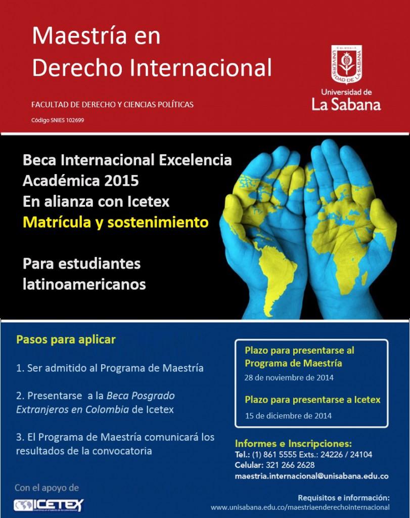 beca internacional