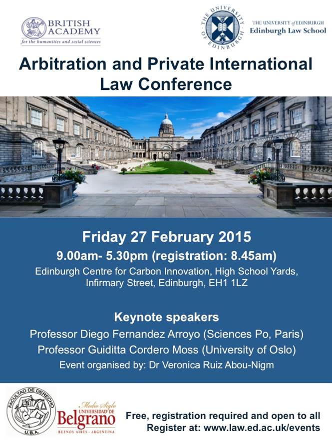 ArbitrationPIL_2015 poster