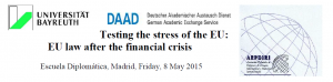 Testing the stress of the EU: EU law after the financial crisis