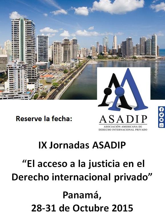 JORNADA ASADIP 2015