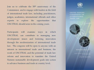 UNCITRAL Congress
