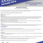 Exposición de posters – Jornadas ASADIP 2016