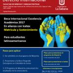 Beca completa para estudiantes latinoamericanos – Maestría de Derecho Internacional